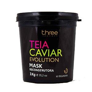 Máscara Teia Caviar Evolution Reconstrutora