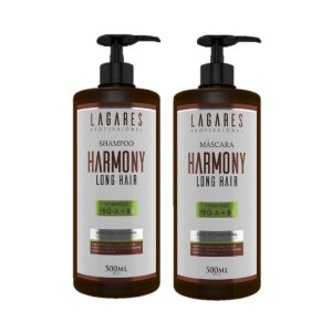Shampoo e Mascara Harmony Long Hair 500Ml