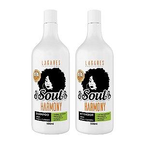 Soul Harmony - Shampoo e Ativador Crespos e Cacheados