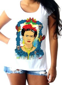 T-shirt Frida Azul