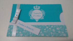 Convite - Envelope Meia Lua