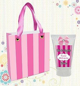 Creme Hidratante + Sacolinha Personalizada