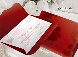 Convite Clássico 06 - R$ 3,50