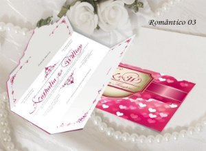 Convite Romântico 03