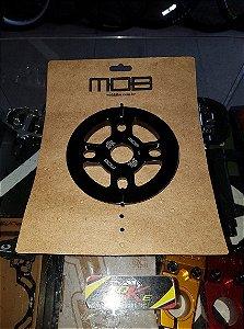 COROA MOB BMX - COM PROTETOR - 26 DENTES - PRETA
