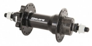 CUBO TRASEIRO HUPI XPT -  SINGLE SPEED - 10X135MM - PRETO