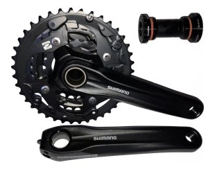 PEDIVELA SHIMANO INTEGRADO - ACERA - FC-MT300-3