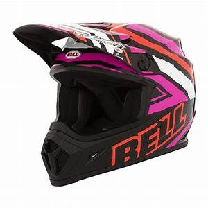 CAPACETE BELL MX9 - TAGGER PINK - G 60/62CM
