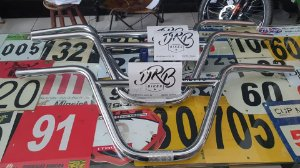 """GUIDAO DRB BMX - 9.5"""" - CROMO"""