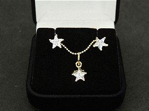 Conjunto de Zircônia Estrela