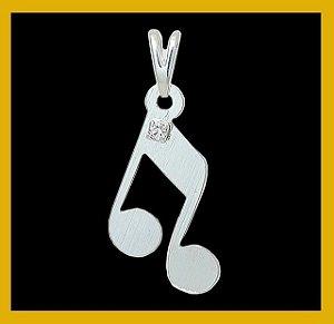 Nota musical com strass