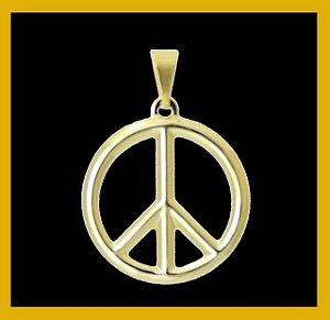 Pingente simbolo da paz