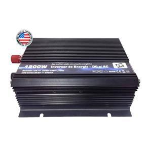 Inversor De Energia e conversor de Tensão 1200w-12V-P/220V