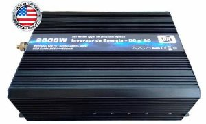 Inversor De Energia e conversor de Tensão 2000w-12V-P/220V