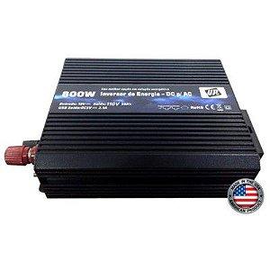 Inversor De Energia e conversor de Tensão 800w-12V-P/110V