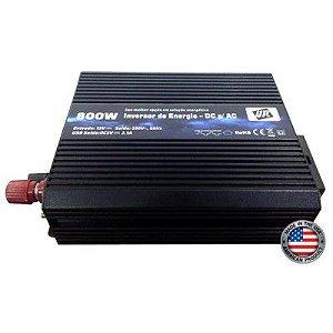 Inversor De Energia e conversor de Tensão 800w-12V-P/220V