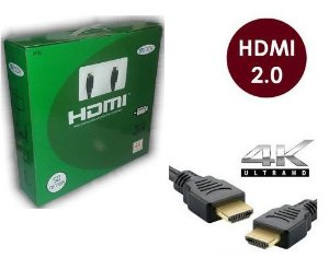Cabo Hdmi 2.0-19 Pinos Ethernet 50 Metros 4k Ultra Hd 3d