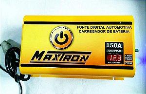 Fonte Automotiva Maxtron 150A C/volt. Digital Ajust. Bivolt