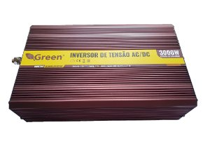 Inversor De Energia e conversor de Tensão 3000w-12V-P/220V-Onda Senoidal Modificada