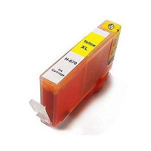Cartucho de Tinta Compatível com HP 670XL MAGENTA  CZ120AB 4625 4615 5525