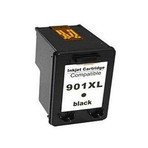 Cartucho de Tinta Compatível com HP 901XL 901 PRETO CC654AL CC654AB CC653AB  Officejet J4660
