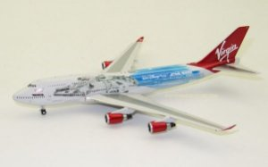 """Phoenix 1:400 Virgin Atlantic Boeing 747-400 """"Millenium Falcon"""""""