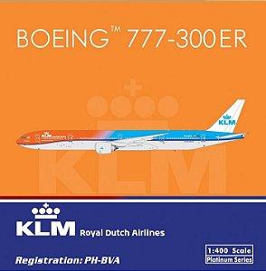 Miniatura Avião Phoenix 1:400 KLM Boeing 777-300ER