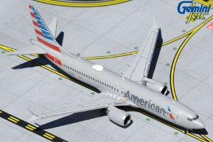Gemini Jets 1:400 American Airlines Boeing 737 MAX 8