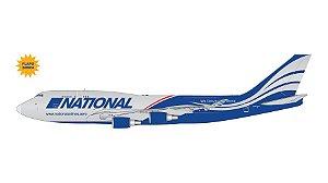"PRÉ- VENDA Gemini Jets 1:400 National Airlines Boeing 747-400BCF ""Flaps/Slats Extended"""