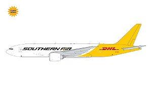 "PRÉ- VENDA Gemini Jets 1:400 Southern Air Boeing 777F ""DHL Tail"" Flaps/Slats Extended"
