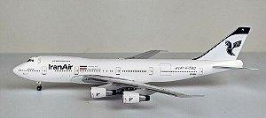 PRÉ VENDA - Aeroclassics Bluebox 1:400 Iran Air Boeing 747-200