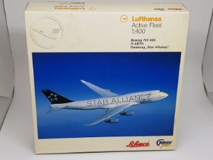"Gemini 1:400 Lufthansa Boeing 747-400 ""Star Alliance"""