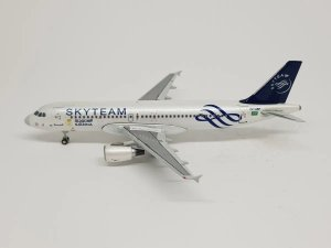 "JC Wings 1:400 Saudia Airbus A320 ""Skyteam"""