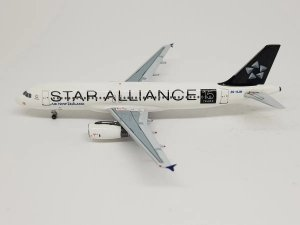 "Aeroclassics 1:400 Air New Zealand Airbus A320 ""Star Alliance"""