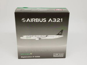 "Phoenix 1:400 Eva Air Airbus A321 ""Star Alliance"""