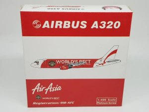"Phoenix 1:400 Air Asia Airbus A320 ""World's Best"""