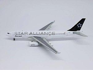 "JC Wings 1:400 Egyptair Airbus A330-200 ""Star Alliance"""