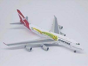 """Gemini Jets 1:400 Qantas Boeing 747-400 """"Socceroos"""""""