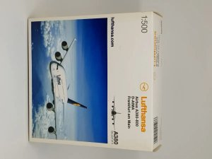 Herpa 1:500 Lufthansa Airbus A380-800
