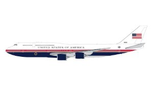 PRÉ-VENDA - Gemini Jets 1:200 Air Force One Boeing 747-8i