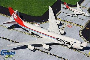 Gemini Jets 1:400 Cargolux Boeing 747-8F Interactive Series