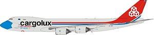 "PRÉ- VENDA - Phoenix 1:400 Cargolux Boeing 747-8F ""Not Without My Mask"""