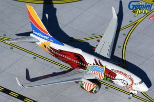 "Gemini Jets 1:400 Southwest Boeing 737-700 ""Illinois One"""