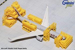 Gemini Jets 1:400 Conjunto de Andaimes de Manutenção de Aeronaves