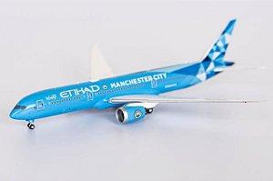 "NG Models 1:400 Etihad Airways Boeing B 787-9 ""Manchester City"""