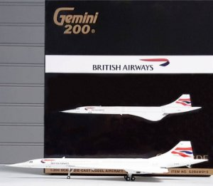 PRÉ- VENDA Gemini Jets 1:200 British Airways Aerospatiale Concorde
