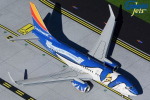 """Gemini Jets 1:200 Southwest Airlines Boeing 737-700 """"Louisiana One Flaps/ Slats Extended"""""""