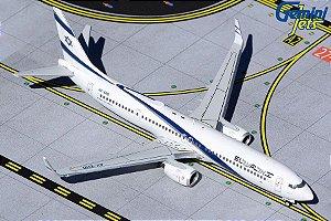 "PRÉ- VENDA Gemini Jets 1:400 El Al Boeing B 737-900ER ""Peace"""