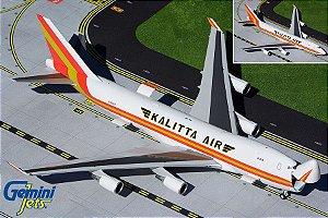PRÉ- VENDA Gemini Jets 1:200 Kalitta Air Boeing 747-400 Com abertura de porta