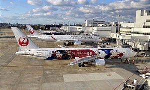 "PRÉ- VENDA Phoenix 1:400 JAL Boeing B767-300ER  ""DREAM EXPRESS FANTASIA 8"""